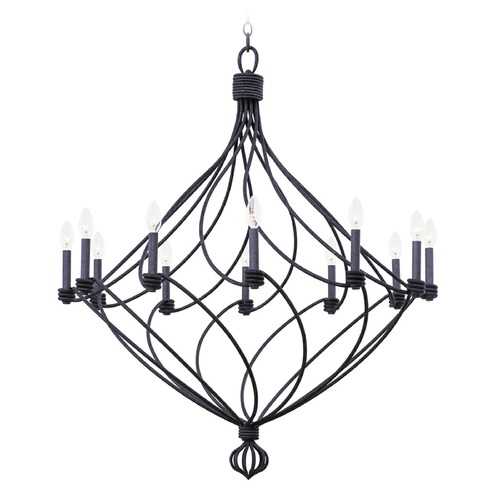 Kalco Lighting Kalco Sundance Charcoal Chandelier 500952CL