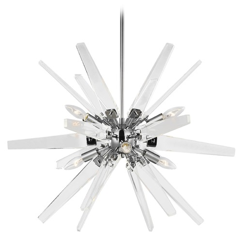 Feiss Lighting Feiss Lighting Thorne Chrome Chandelier F3257/6CH