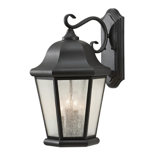 Sea Gull Lighting Sea Gull Lighting Martinsville Black LED Outdoor Wall Light OL5904EN/BK