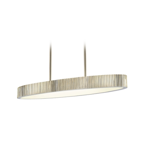 Sonneman Lighting Modern Island Light in Polished Nickel Finish 4624.35