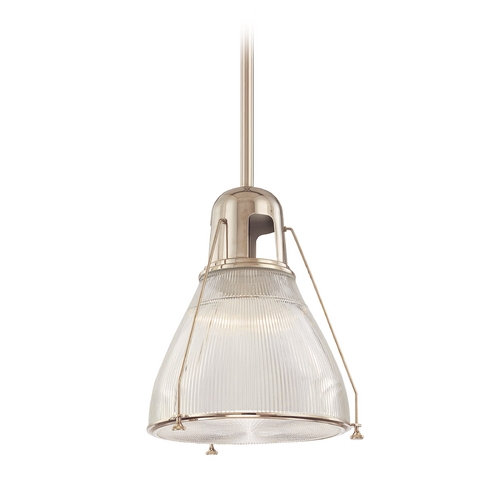Hudson Valley Lighting Pendant Light with Clear Glass in Polished Nickel Finish 7315-PN