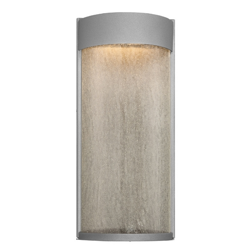 Modern Forms by WAC Lighting Modern Forms Rain Graphite LED Outdoor Wall Light WS-W2416-GH