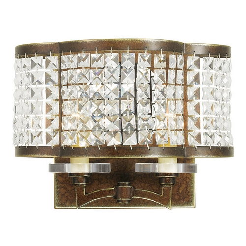 Livex Lighting Livex Lighting Grammercy Hand Painted Palacial Bronze Sconce 50568-64