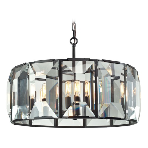 Elk Lighting Elk Lighting Garrett Oil Rubbed Bronze Pendant Light 31567/6
