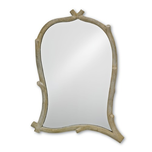 Currey and Company Lighting Creekside Rectangle 29.25-Inch Mirror 1103