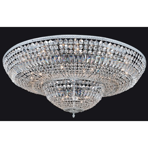 Allegri Lighting Lemire 24 Light Flush Mount w/ Chrome 025947-010-FR001