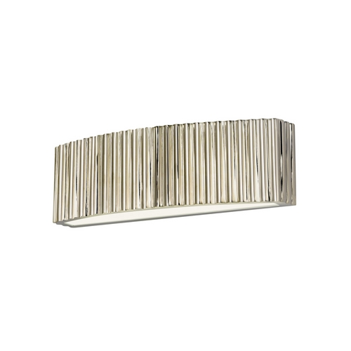 Sonneman Lighting Modern Sconce Wall Light in Polished Nickel Finish 4620.35