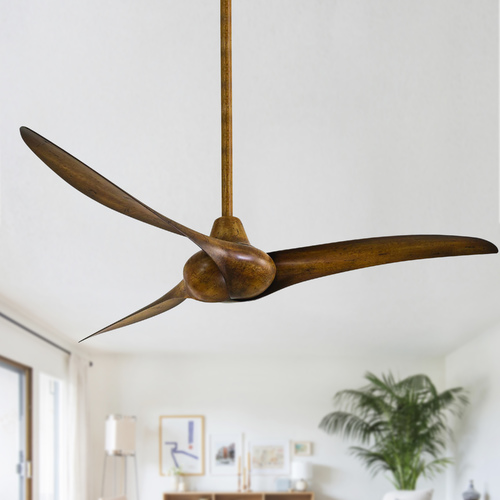 Minka Aire 52-Inch Ceiling Fan Without Light in Distressed Koa Finish F843-DK