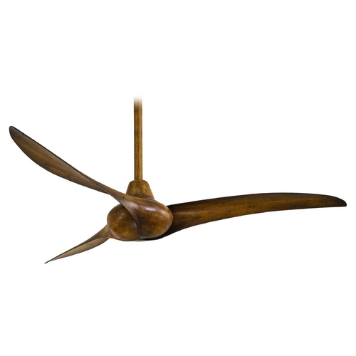Minka Aire Ceiling Fan Without Light in Distressed Koa Finish F843-DK