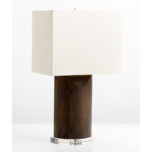 Cyan Design Cyan Design Athens Espresso Table Lamp with Rectangle Shade 5895