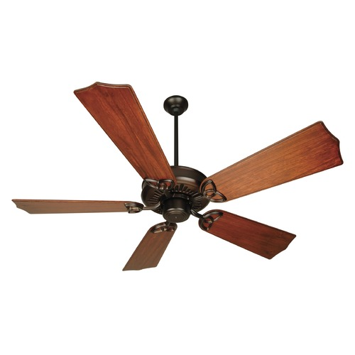 Craftmade Lighting Craftmade Lighting American Tradition Oiled Bronze Ceiling Fan Without Light K10603