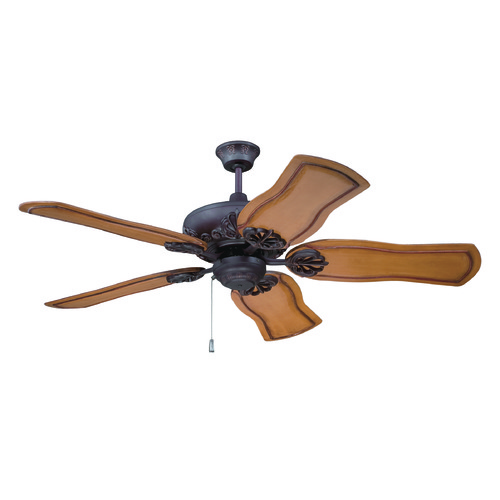 Craftmade Lighting Craftmade Lighting Cordova Aged Bronze Textured Ceiling Fan Without Light K11221