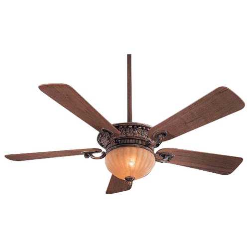 Minka Aire 52-Inch Ceiling Fan with Five Blades and Light Kit F702-BCW
