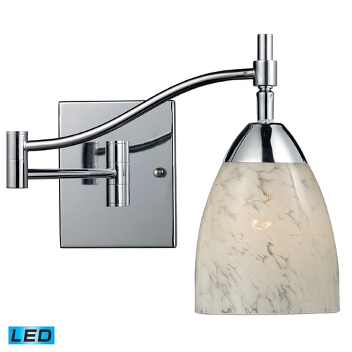 Elk Lighting Elk Lighting Celina Polished Chrome LED Swing Arm Lamp 10151/1PC-SW-LED