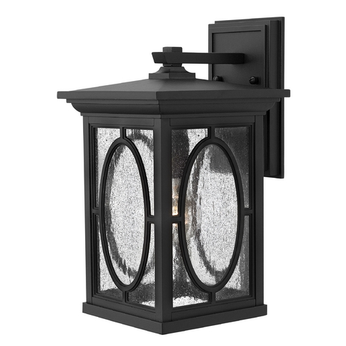 Hinkley Lighting LED Outdoor Wall Light with Clear Glass in Black Finish 1494BK-LED