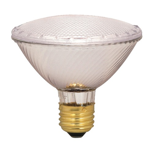Satco Lighting Halogen PAR30 Light Bulb Medium Base Wide Flood 34 Degree Beam Spread 2900K 130V Dimmable S2335