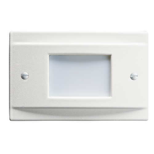 Kichler Lighting Kichler Lighting Step and Hall Light White LED Recessed Step Light 12665WH
