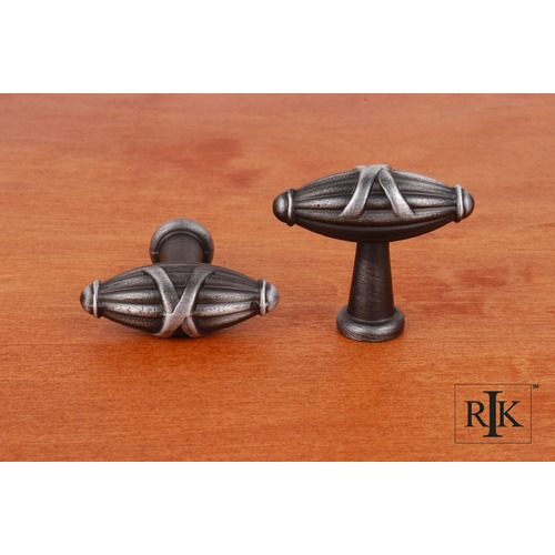 RK International Small Crossed Indian Drum Knob CK757DN