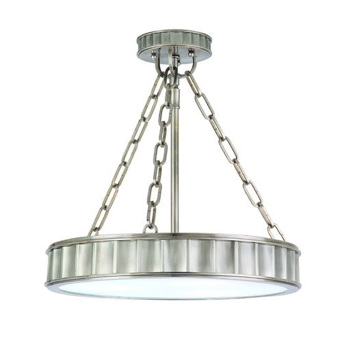 Hudson Valley Lighting Semi-Flushmount Light in Historic Nickel Finish 901-HN