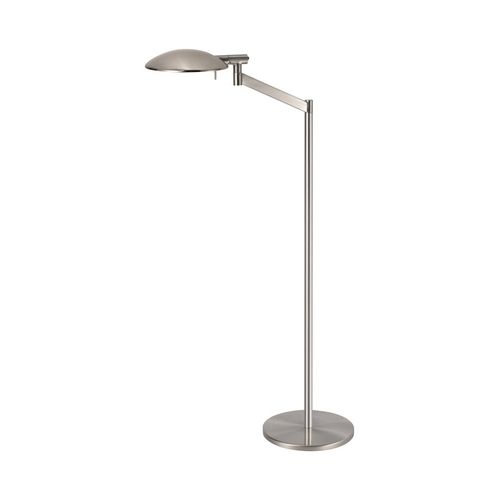 Sonneman Lighting Modern Swing Arm Lamp in Satin Nickel Finish 7088.13