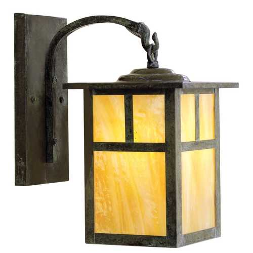 Arroyo Craftsman Lighting 8-5/8-Inch Outdoor Wall Light MB-5T-BZ-GW