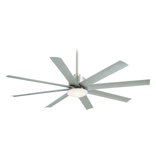 Minka Aire Minka Aire Brushed Nickel Outdoor Ceiling Fan F888-BNW