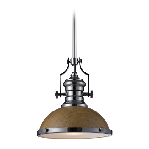 Elk Lighting Pendant Light in Polished Nickel Finish 66564-1