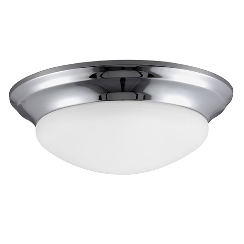 Sea Gull Lighting Sea Gull Lighting Nash Chrome Flushmount Light 75434-05