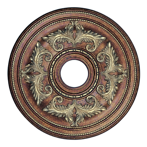 Livex Lighting Livex Lighting Ceiling Medallions Palacial Bronze with Gilded Accents Ceiling Medallion 8200-64