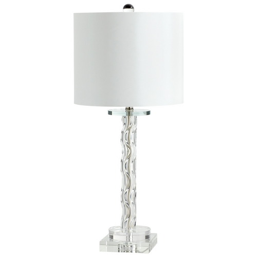 Cyan Design Cyan Design Votto Clear Table Lamp with Drum Shade 05898