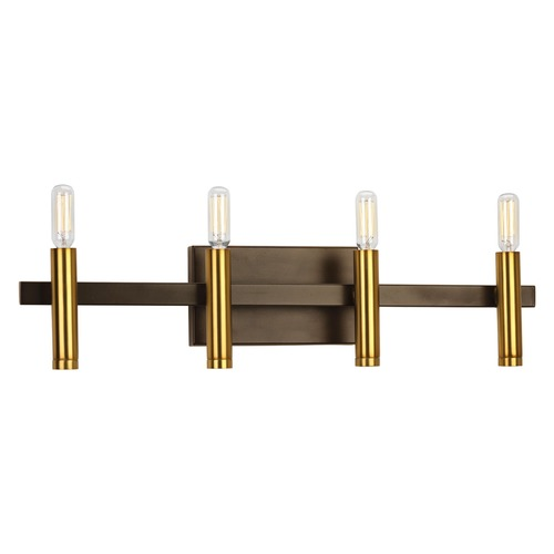 Progress Lighting Progress Lighting Draper Antique Bronze Bathroom Light P2102-20