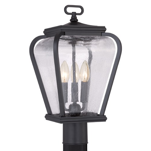 Quoizel Lighting Quoizel Province Mystic Black Post Light PRV9009K