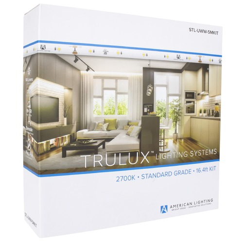 American Lighting American Lighting LED Trulux White 196.80-Inch LED Tape Light Kit STL-UWW-5MKIT