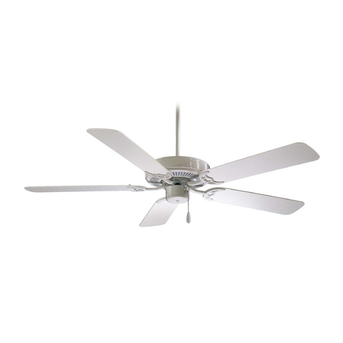 Minka Aire Ceiling Fan Without Light in White Finish F546-WH