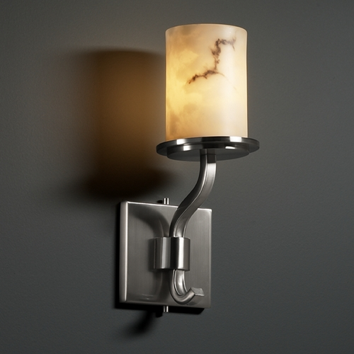 Justice Design Group Justice Design Group Lumenaria Collection Sconce FAL-8781-10-NCKL