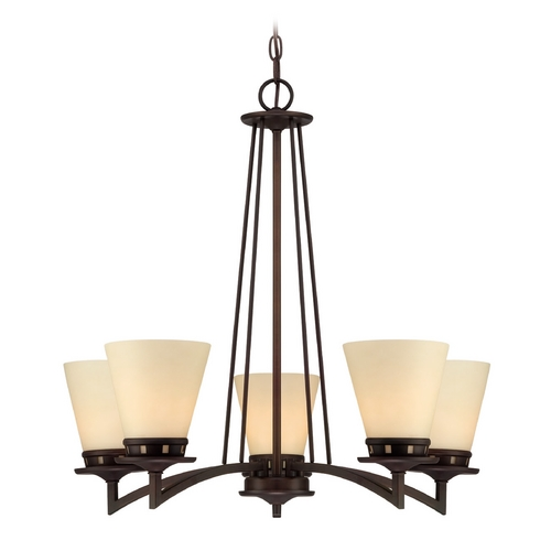 Lite Source Lighting Lite Source Lighting Erina Aged Bronze Chandelier LS-18455