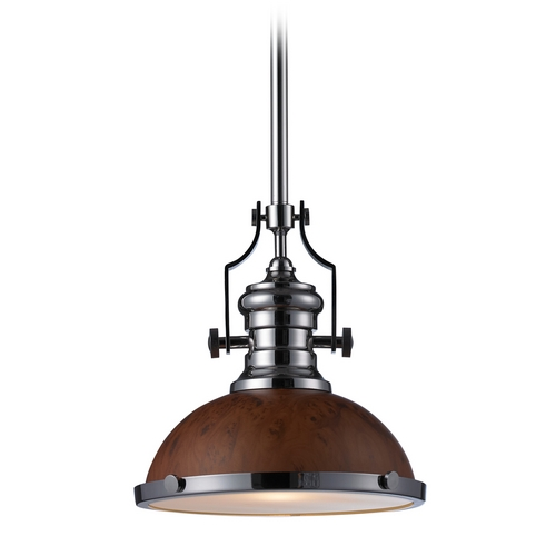 Elk Lighting Pendant Light in Polished Nickel Finish 66565-1