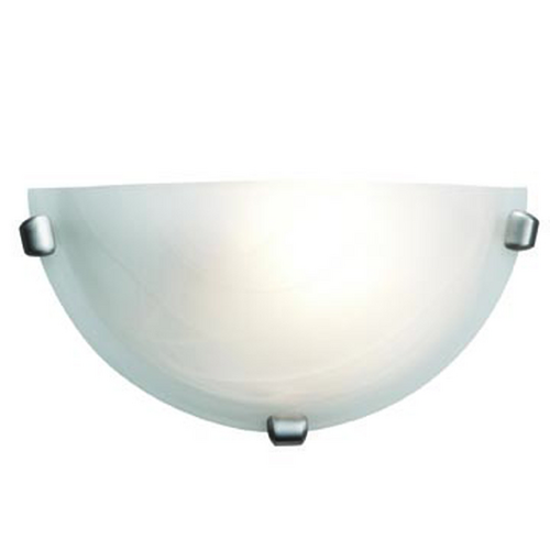 Access Lighting Access Lighting Mona Brushed Steel Sconce C20417BSALBEN1118BS