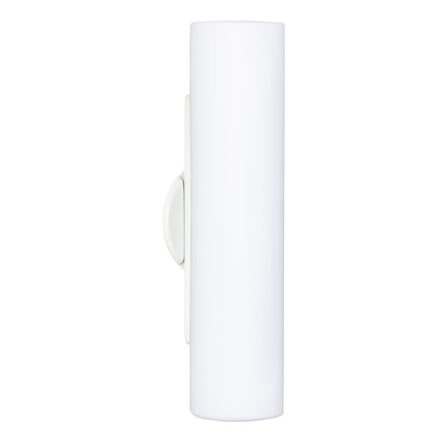 Besa Lighting Besa Lighting Baaz White Outdoor Wall Light 2NW-770207-WH