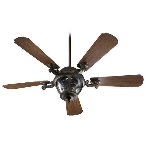 Quorum Lighting Quorum Lighting Westbrook Baltic Granite Ceiling Fan with Light 142525-945