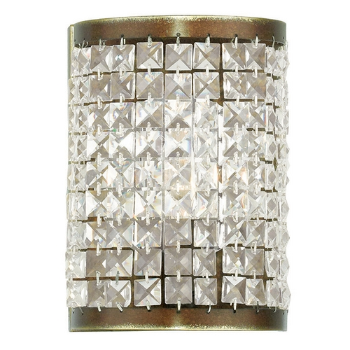 Livex Lighting Livex Lighting Grammercy Hand Painted Palacial Bronze Sconce 50571-64