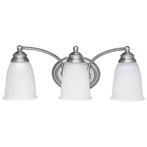 Capital Lighting Capital Lighting Matte Nickel Bathroom Light 1088MN-132