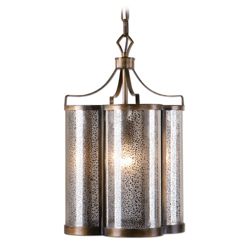 Uttermost Lighting Uttermost Croydon 1 Light Mercury Glass Pendant 22061