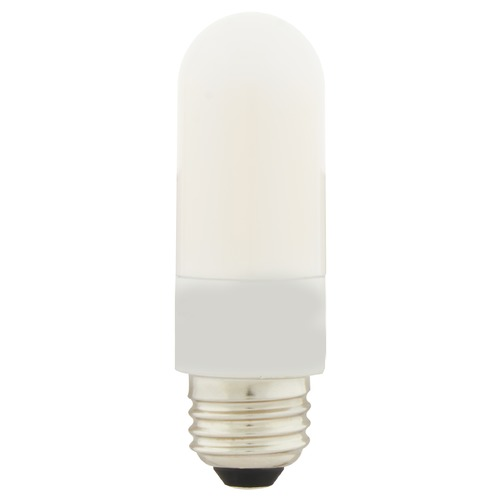 Satco Lighting Satco 8 Watt T10 LED Frosted Medium Base 3000K High Lumen 120 Volt Non-Dimmable S11218