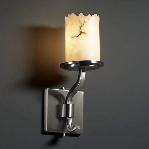 Justice Design Group Justice Design Group Lumenaria Collection Sconce FAL-8781-12-NCKL