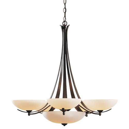 Hubbardton Forge Lighting Seven-Light Chandelier 101263-07-H123,H142