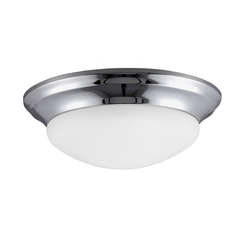 Sea Gull Lighting Sea Gull Lighting Nash Chrome Flushmount Light 75435-05