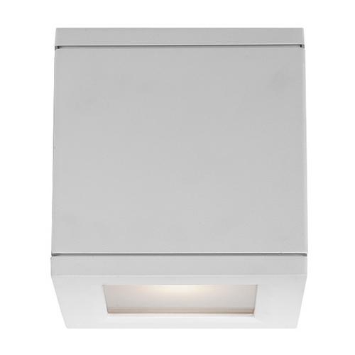 Modern Forms by WAC Lighting Modern Forms Rubix White LED Outdoor Wall Light WS-W2505-WT