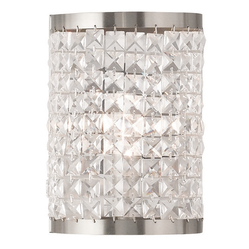 Livex Lighting Livex Lighting Grammercy Brushed Nickel Sconce 50571-91