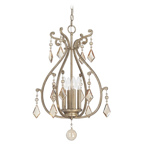Savoy House Savoy House Oxidized Silver Pendant Light 3-8103-4-128